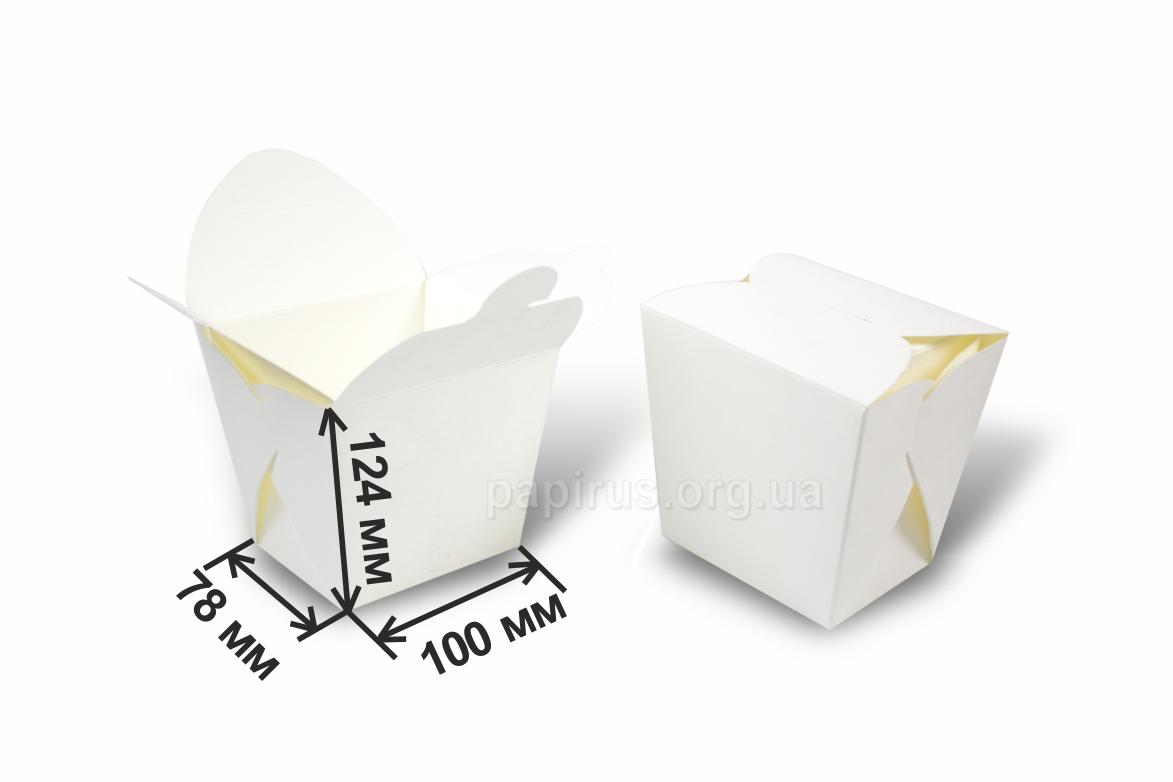 Печатный дом Папирус, г. Сумы, Коробка для лапши